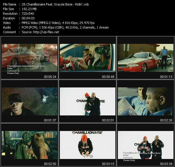 Chamillionaire Feat. Krayzie Bone video screenshot