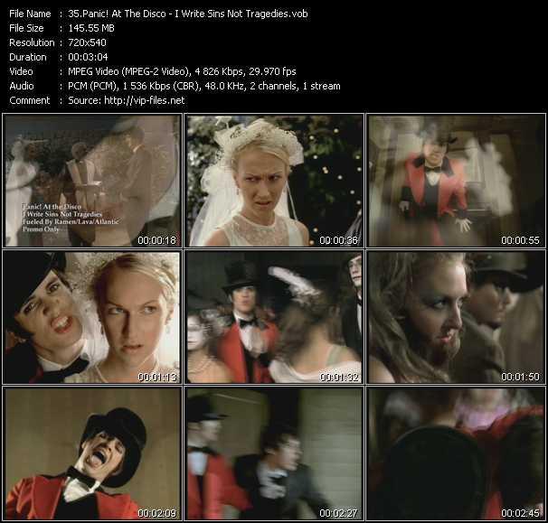 Panic! At The Disco video screenshot
