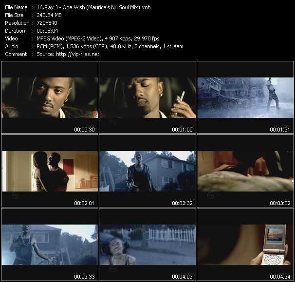 Ray J video screenshot