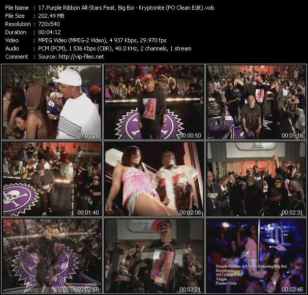 Purple Ribbon All-Stars Feat. Big Boi video screenshot