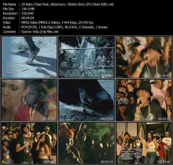 Baby Cham Feat. Alicia Keys video screenshot