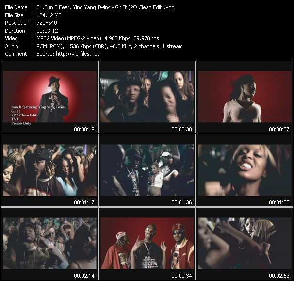 Bun B Feat. Ying Yang Twins video screenshot
