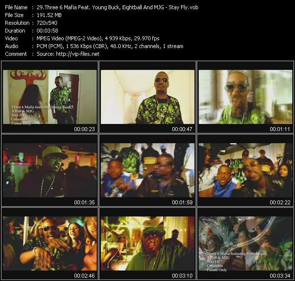 Three 6 Mafia Feat. Young Buck, 8Ball (Eightball) And MJG video screenshot