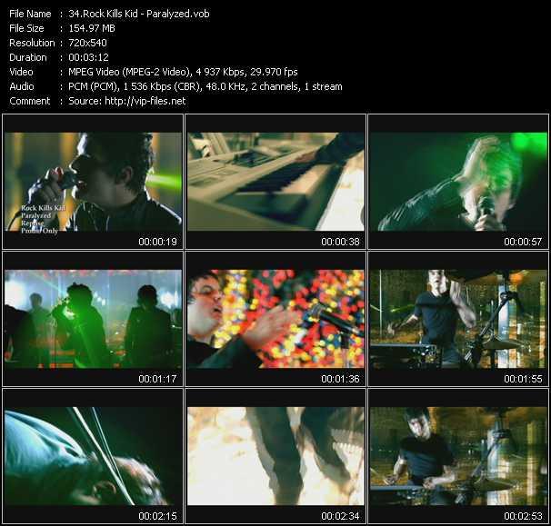 Rock Kills Kid video screenshot