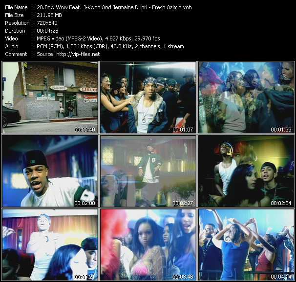 Bow Wow Feat. J-Kwon And Jermaine Dupri video screenshot