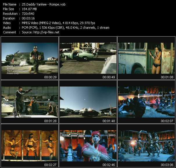 video Rompe screen