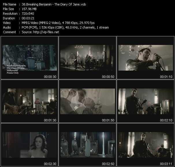Breaking Benjamin video screenshot