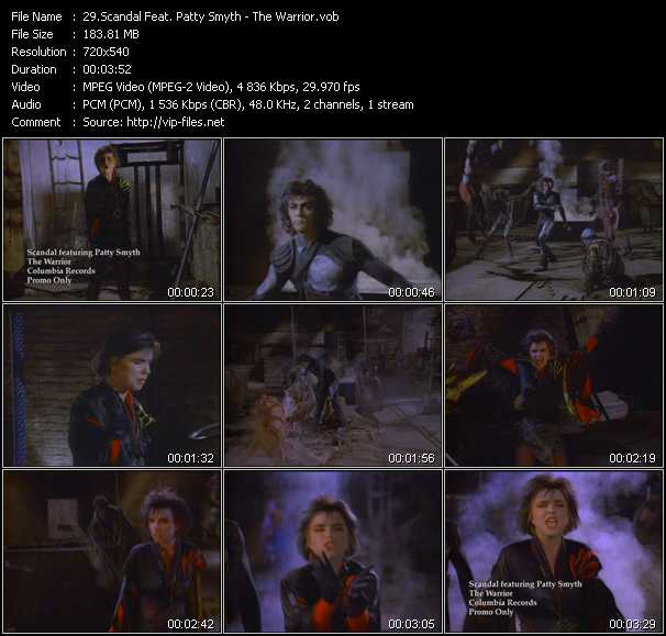 Scandal Feat. Patty Smyth video screenshot