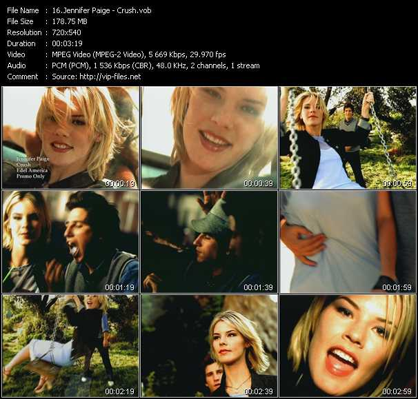 Jennifer Paige video screenshot