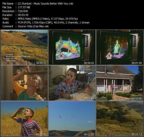Stardust video screenshot