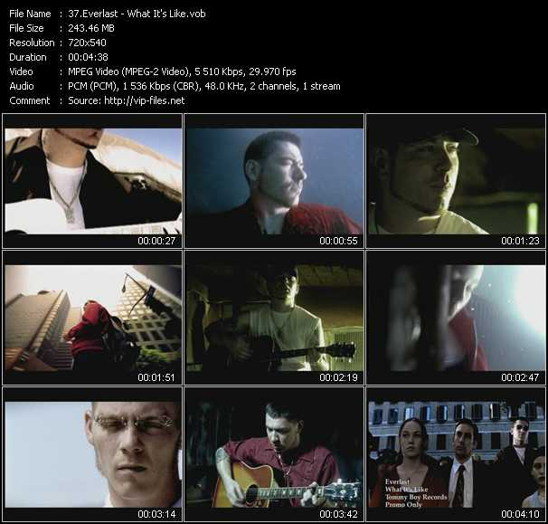 Everlast video screenshot