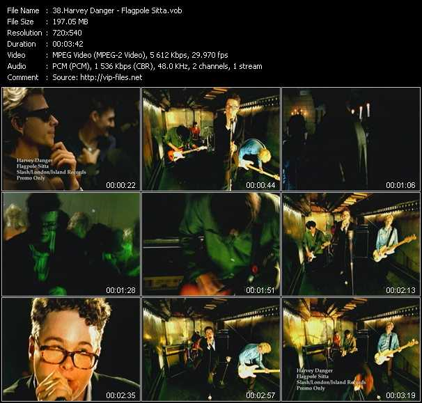 Harvey Danger video screenshot