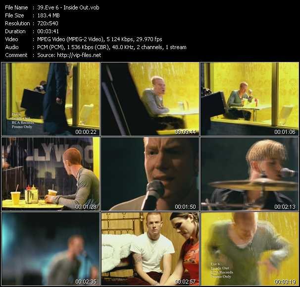 Eve 6 video screenshot