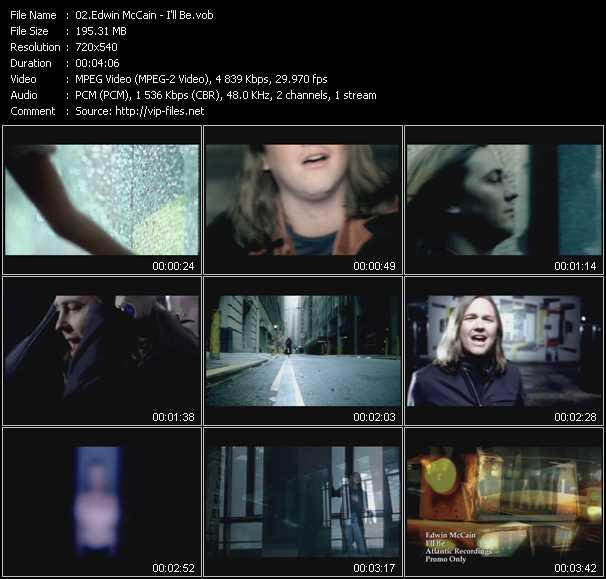 Edwin McCain video screenshot