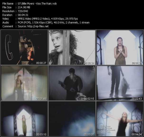 Billie Myers video screenshot