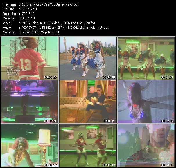 Jimmy Ray video screenshot