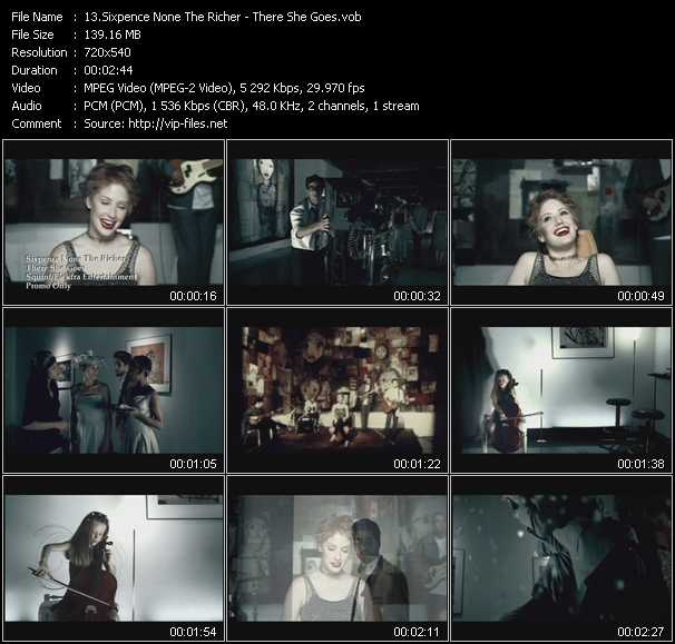 Sixpence None The Richer video screenshot