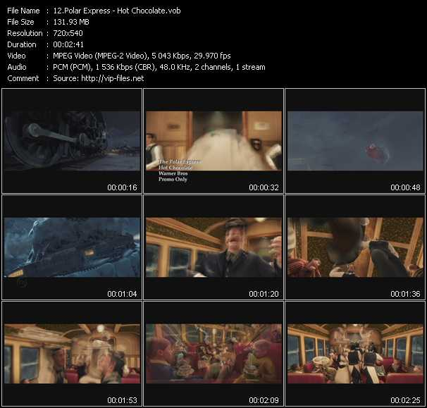 Polar Express video screenshot