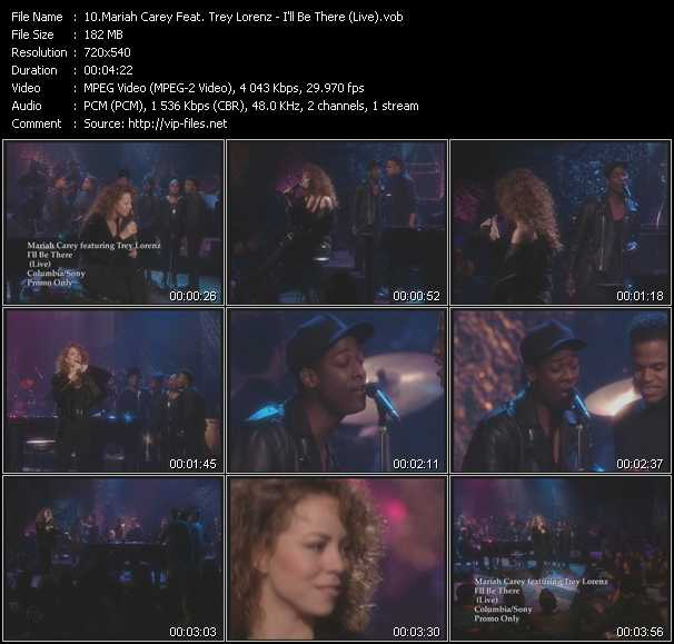 Mariah Carey Feat. Trey Lorenz video screenshot