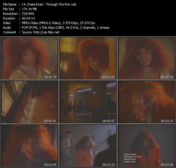 video Through The Fire screen