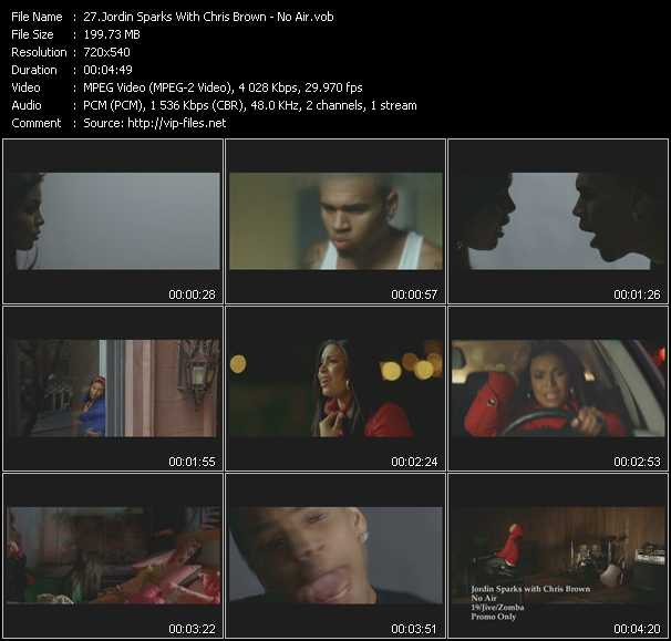 Jordin Sparks With Chris Brown video screenshot