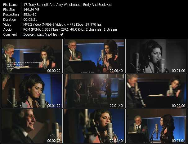 Tony Bennett And Amy Winehouse video screenshot