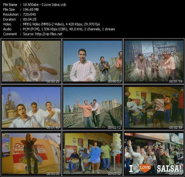 N'Klabe video screenshot