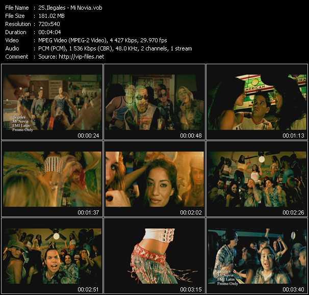 Ilegales video screenshot