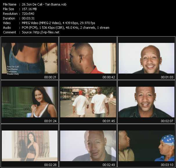Son De Cali video screenshot