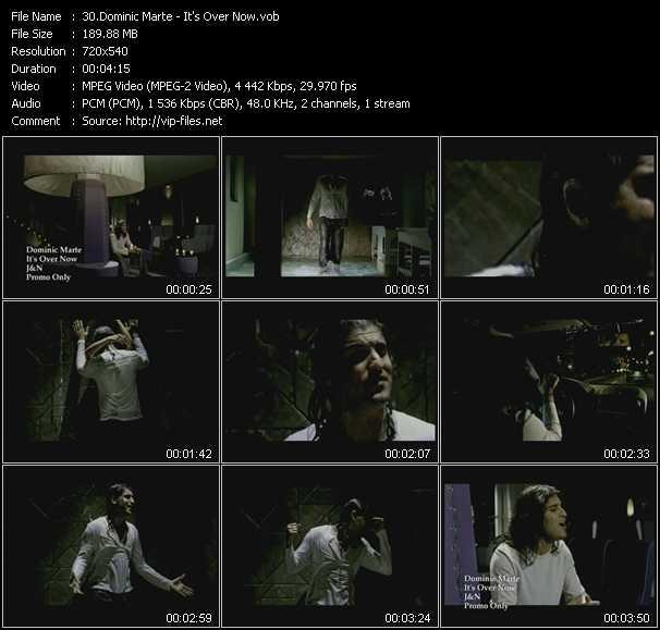 Dominic Marte video screenshot
