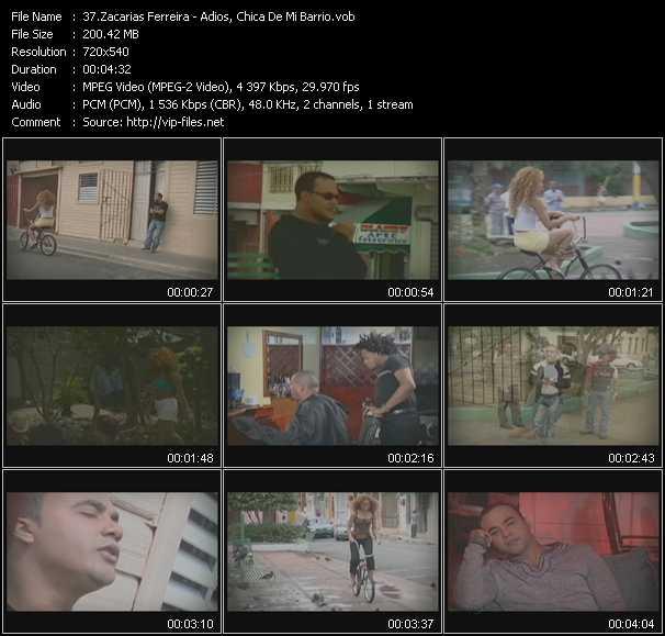 Zacarias Ferreira video screenshot
