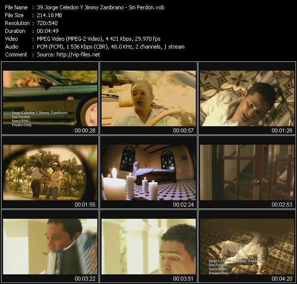Jorge Celedon And Jimmy Zambrano video screenshot