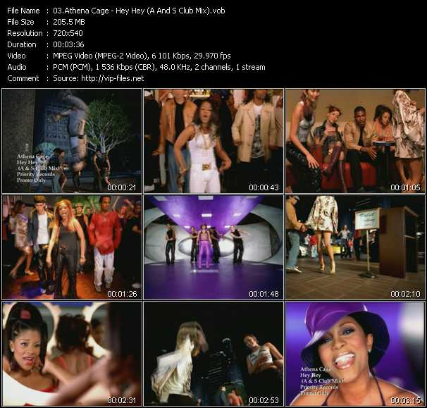 Athena Cage video screenshot