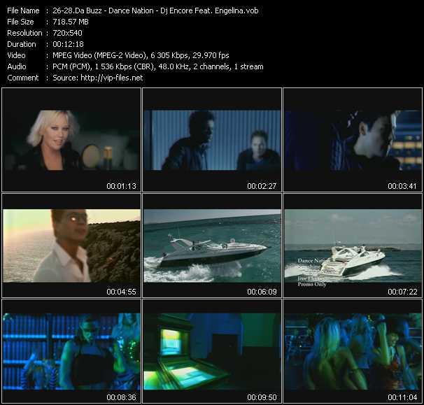 Da Buzz - Dance Nation - Dj Encore Feat. Engelina video screenshot