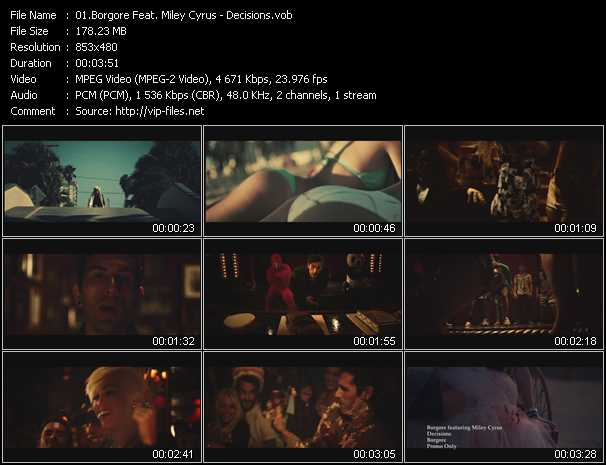 Borgore Feat. Miley Cyrus video screenshot