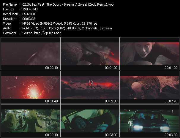 Skrillex Feat. The Doors video screenshot