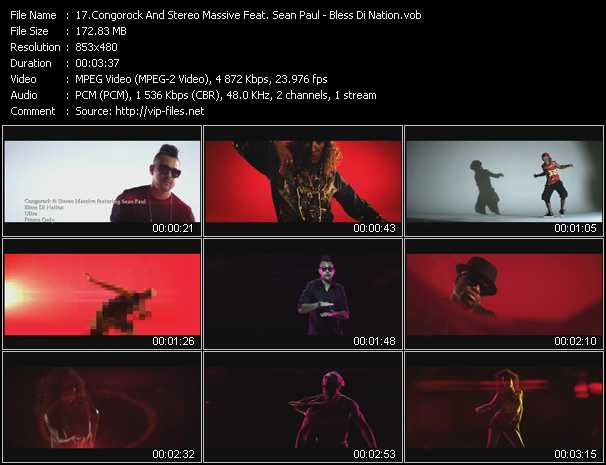 Congorock And Stereo Massive Feat. Sean Paul video screenshot