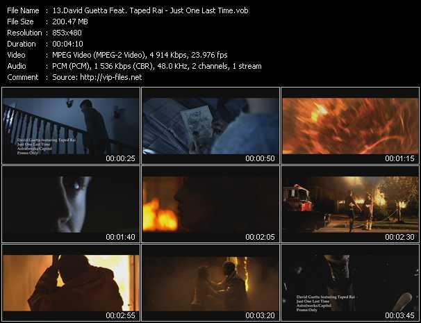 David Guetta Feat. Taped Rai video screenshot