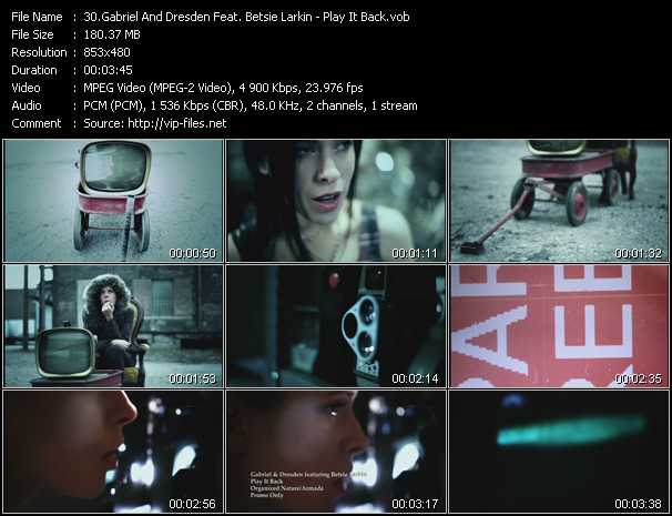 Gabriel And Dresden Feat. Betsie Larkin video screenshot