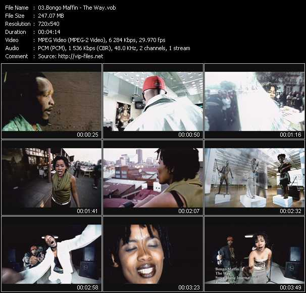 Bongo Maffin video screenshot