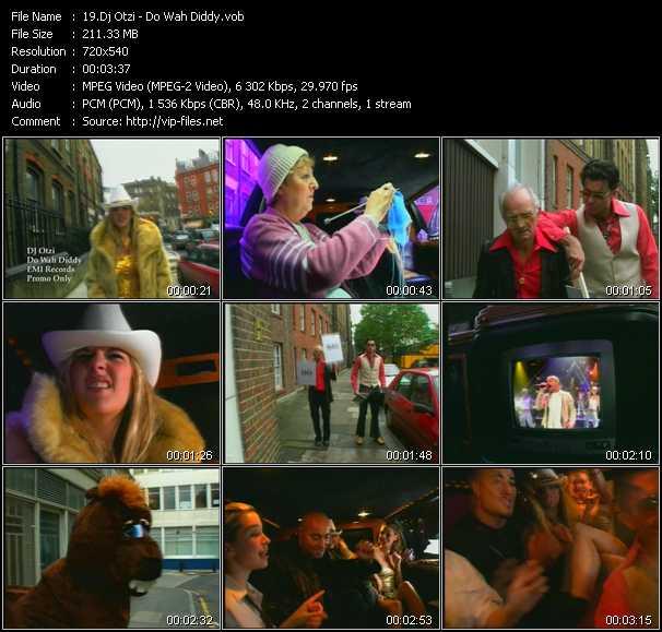 Dj Otzi video screenshot