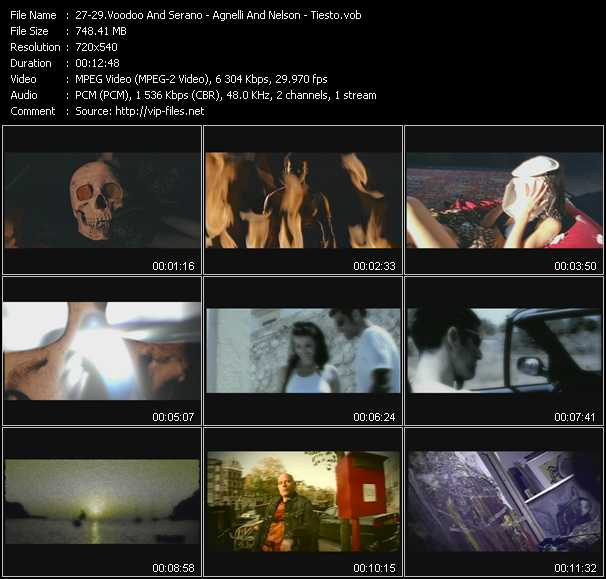 Voodoo And Serano - Agnelli And Nelson - Tiesto video screenshot