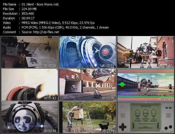 Xilent video screenshot