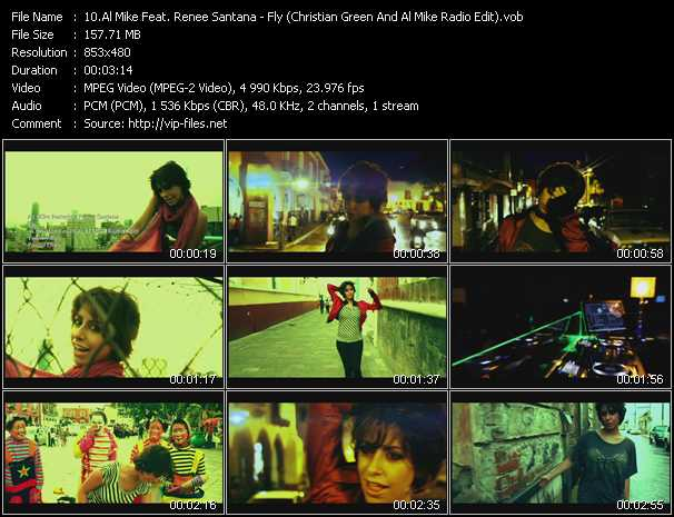 Al Mike Feat. Renee Santana video screenshot