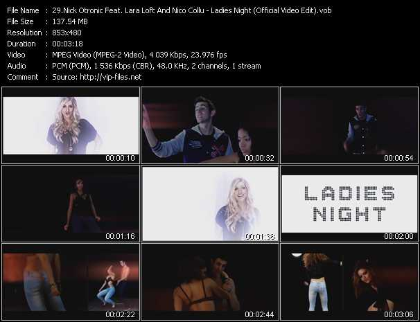 Nick Otronic Feat. Lara Loft And Nico Collu video screenshot