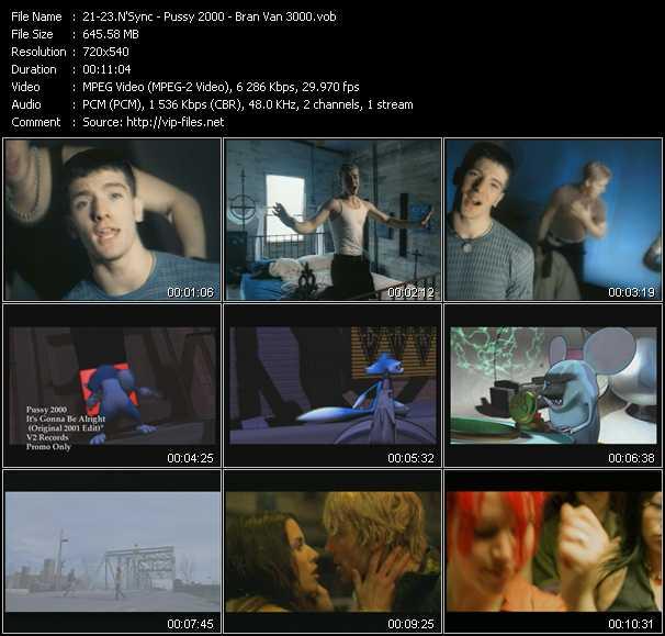 N'Sync - Pussy 2000 - Bran Van 3000 video screenshot