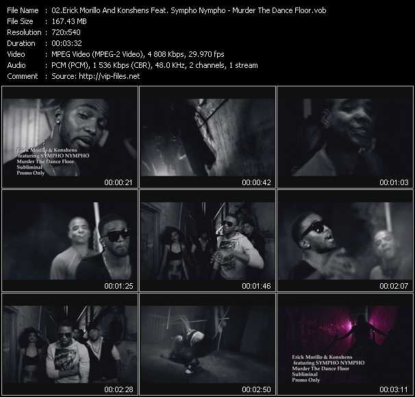 Erick Morillo And Konshens Feat. Sympho Nympho video screenshot