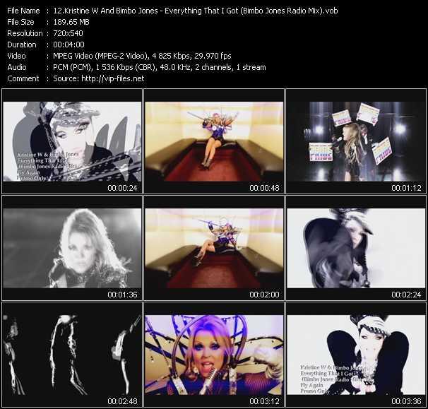 Kristine W And Bimbo Jones video screenshot