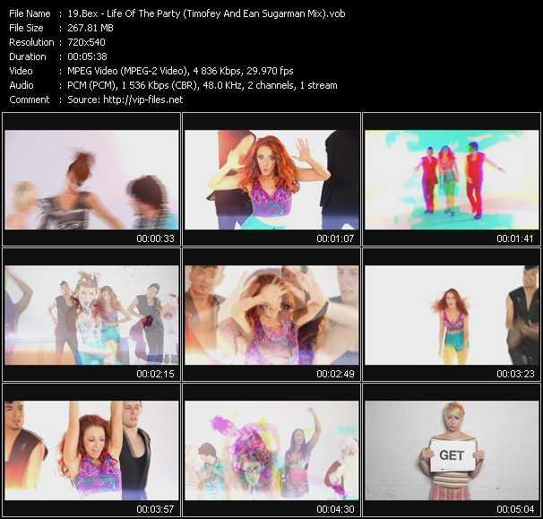 Bex video screenshot