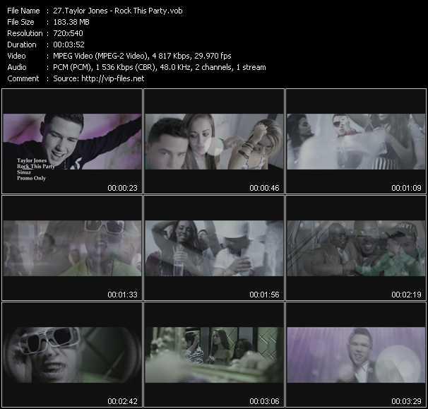 Taylor Jones video screenshot